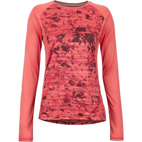 Marmot Crystal - T-shirt manches longues Femme - rouge